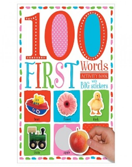 100 First Words Sticker Activity