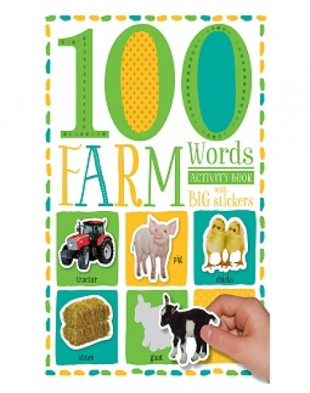 100 First Farm Words Sticker Activity