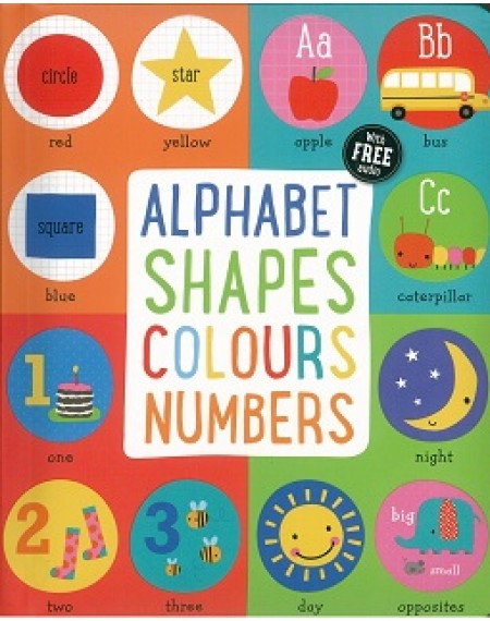 Alphabet Shapes Colours Number