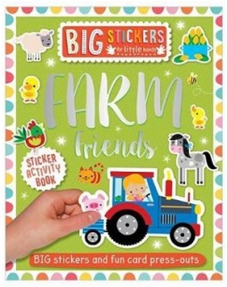 Big Stickers For Little Hands Farm Friends