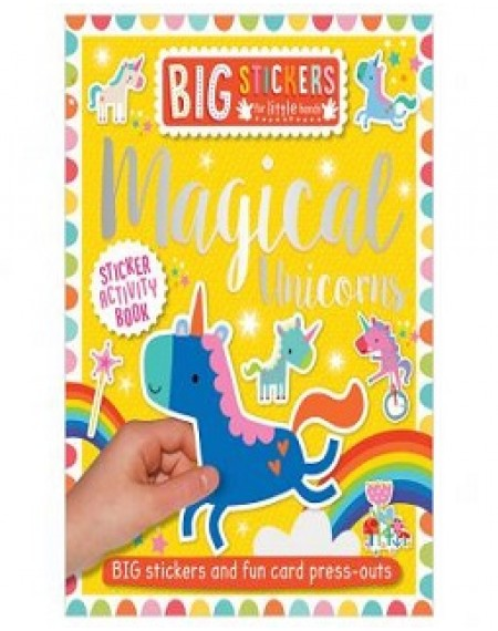 Big Stickers For Little Hands Magical Unicorns