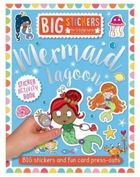 Big Stickers For Little Hands Mermaid Lagoon