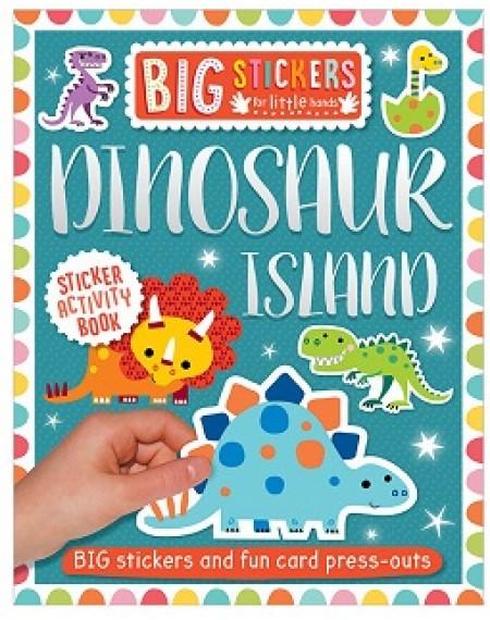 Big Stickers For Little Hands Dinosaur Island