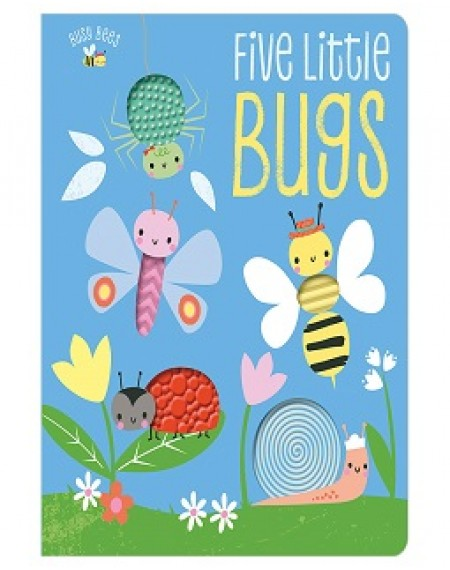 Busy Bees Five Little Bugs Colours And Counting (with 5 silicon shapes)