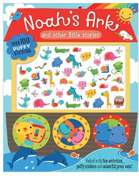 Noah's Ark Puffy Sticker Activity Book