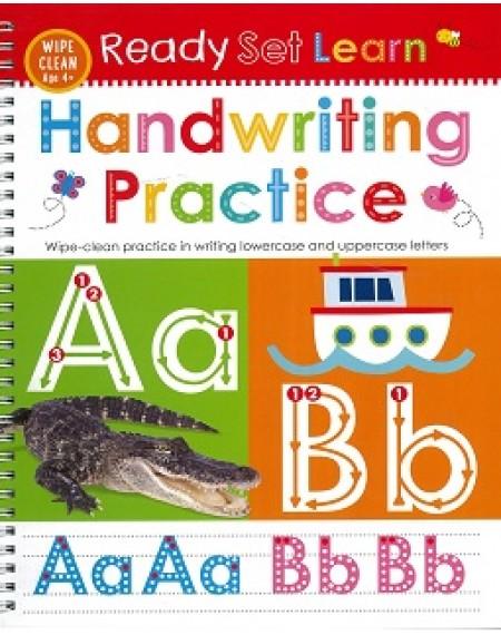 Ready Set Learn Wipe Clean : Handwriting