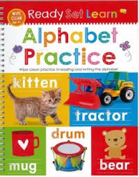 Ready Set Learn Wipe Clean : Alphabet