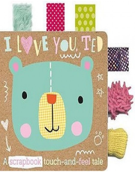 I Love You Ted Fabric Tab