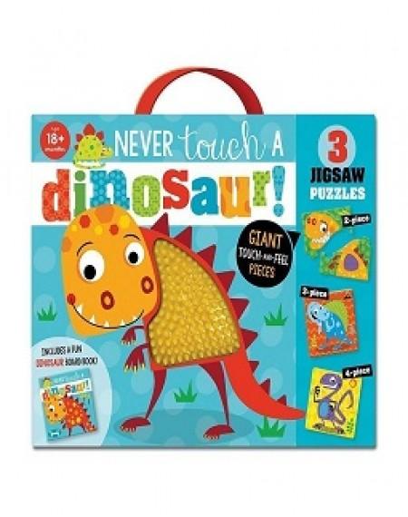 Never Touch A Dinosaur Jigsaw Puzzle