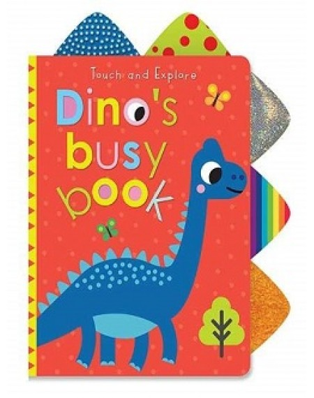 Dino's Busy Book With T & F Tabs