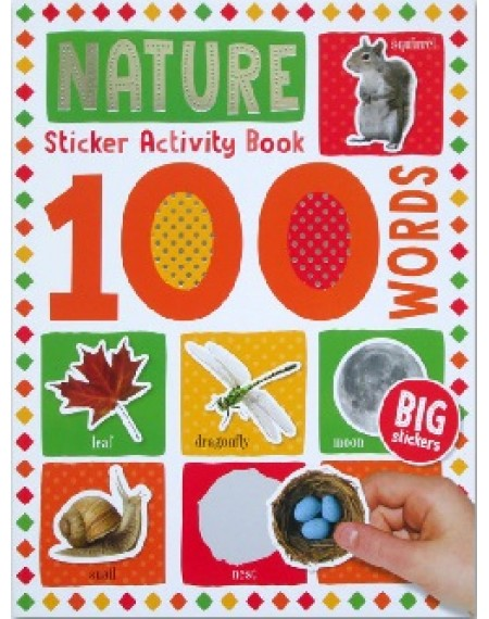 100 Words Sticker Activity Book  : Nature
