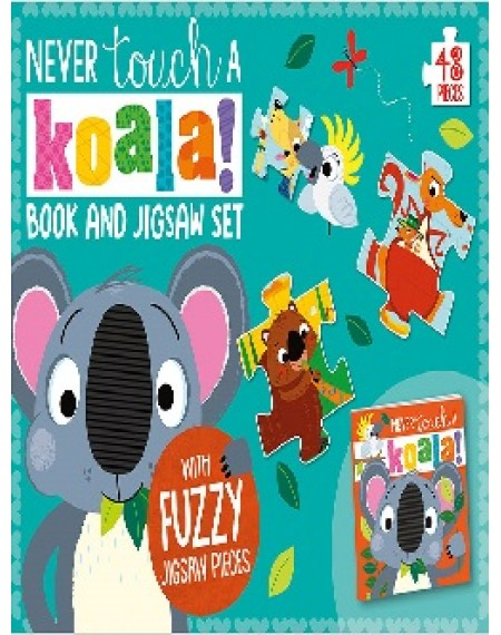 Touch and Play Jigsaw And Book Never Touch a Koala