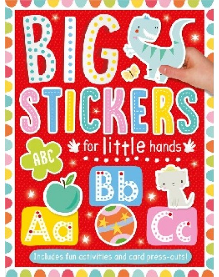 Big Stickers For Little Hands : ABC