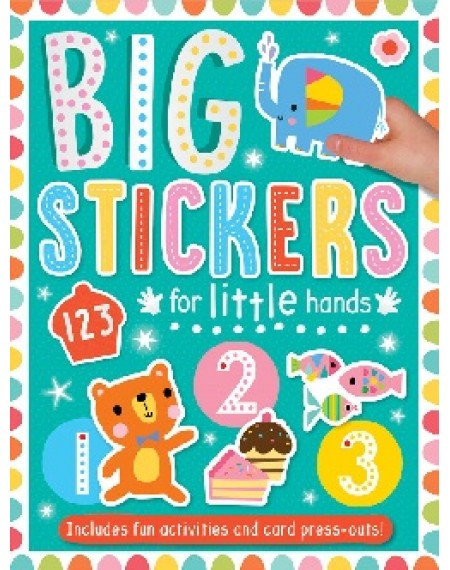 Big Stickers For Little Hands : 123