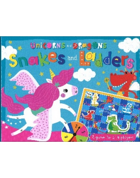 Box Set : Unicorns and Dragons Snakes and Ladders