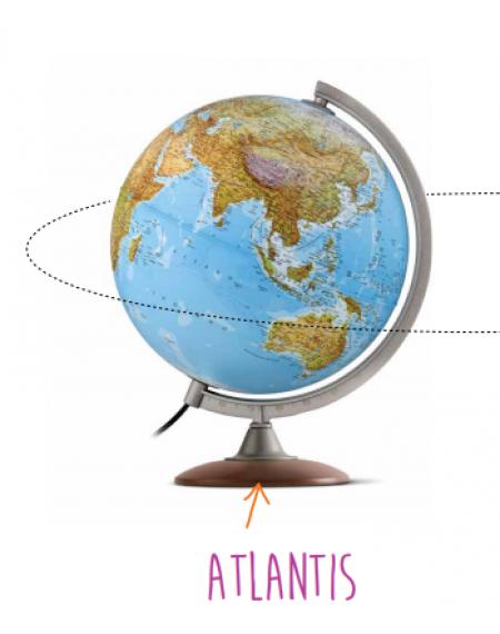 Globe cm 25 Atlantis Eng UK Led