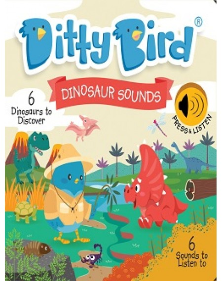 Ditty Bird : Dinosaur Sounds