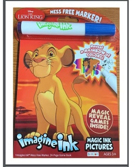 Imagine Ink Magic Ink Pictures : Lion King