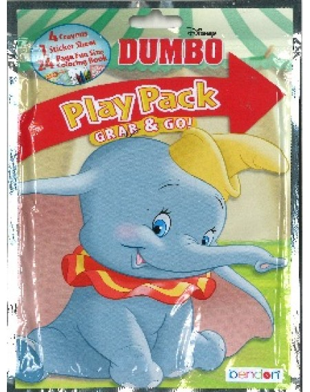 Grab And Go Play Pack : Dumbo