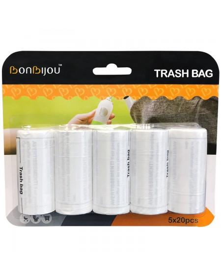 BB70291- Bonbijou Trash Bag Refills 5 X 20pcs
