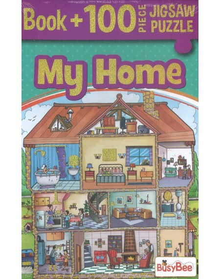 5 In 1 Jigsaw Activity Pack : My Home