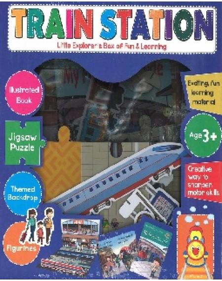 Little Explorer's Box Of Fun & Learning; Train Station