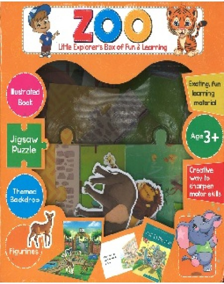 Little Explorer's Box Of Fun & Learning: Zoo