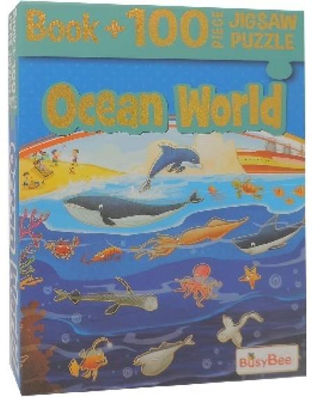 5 In 1 Jigsaw Activity Pack : Ocean