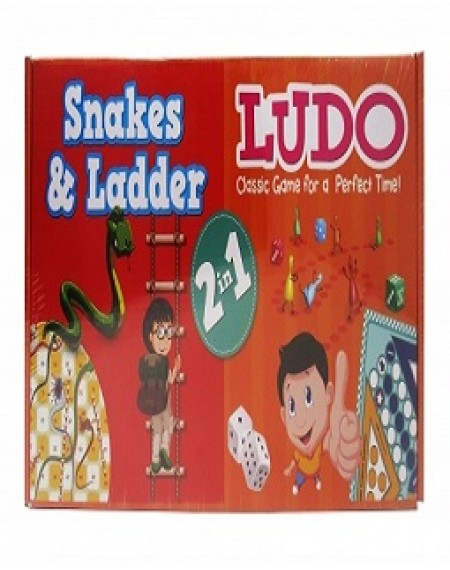 Classic Games : Snake , Ladder And Ludo  2 -1