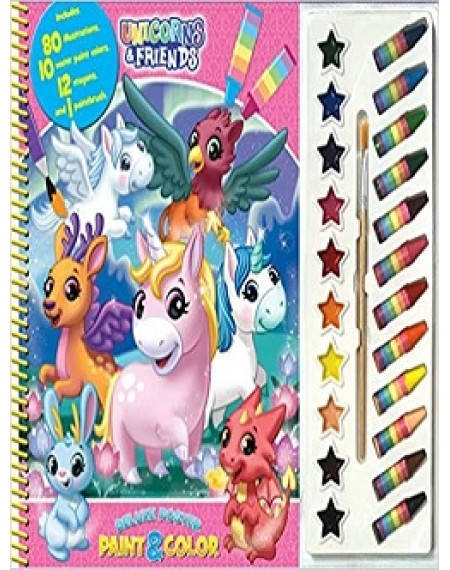 Deluxe Poster Paint And Colour Unicorns