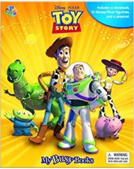 My Busy Bks : Disney Toy Story My Busy Books