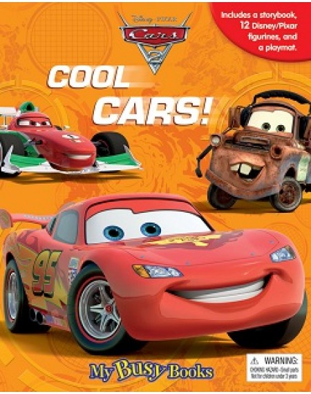 My Busy Book -:Disney Pixar Cars #2 (Cool Cars)