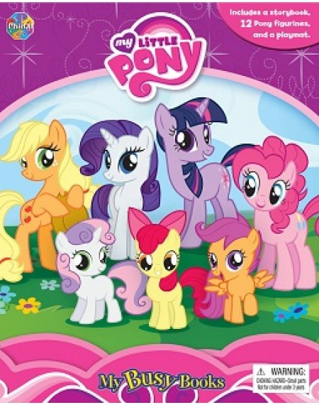 My Busy Book : My Little Pony #2