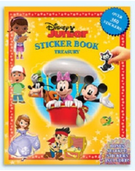 Sticker Book Treasury : Disney Junior
