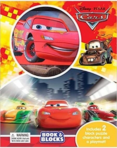 Book And Blocks : Disney Cars