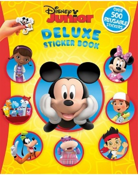 Deluxe Sticker Book : Disney Junior
