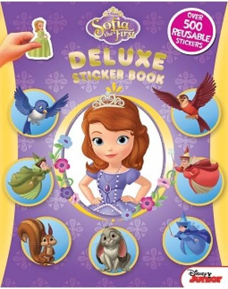 Deluxe Sticker book : Disney Sofia
