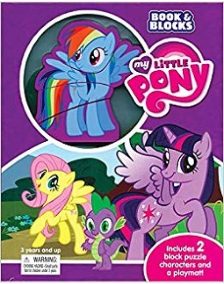 Book and Blocks : My Little Pony