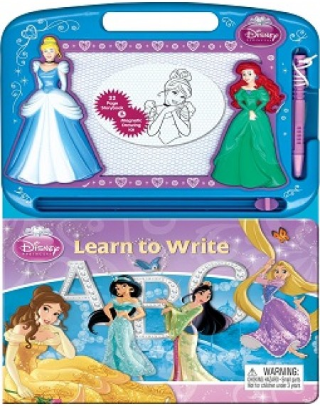 Learning Series : Disney Princess Learn To Write ABC