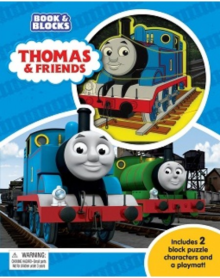 Book and Block : Thomas & Friends