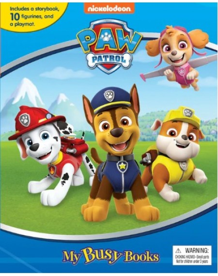 My Busy Book : Paw Patrol