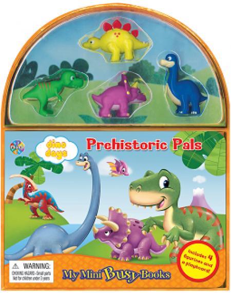 Mini Busy Book : Prehistoric Pals