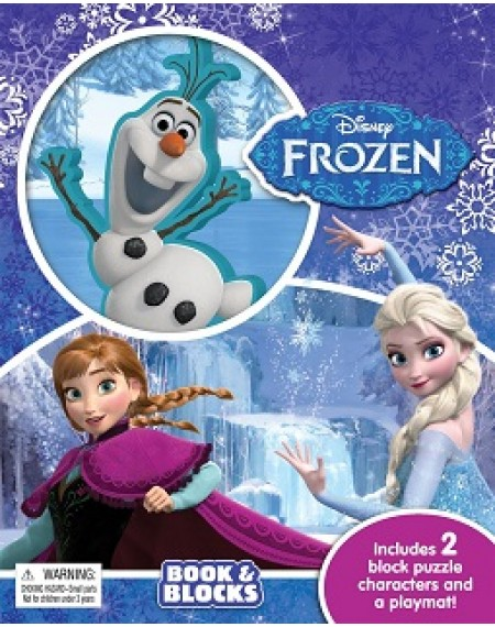 Book & Block : Disney Frozen