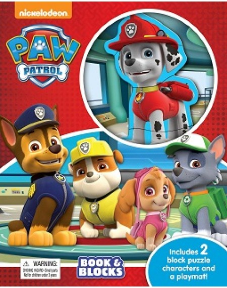 Book and Block : Patrol Paw