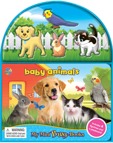 Mini Busy Book : Baby Animals