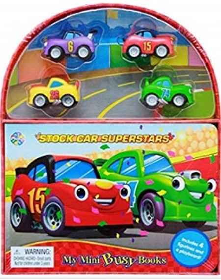 Mini Busy Book : Race Cars