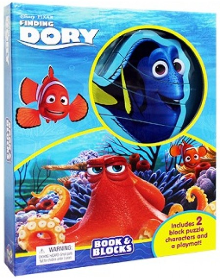 Book And Block : Disney Finding Dory