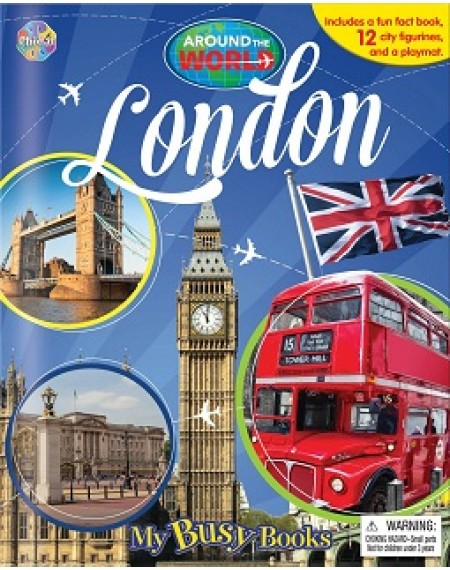 My Busy Book : Around The World London