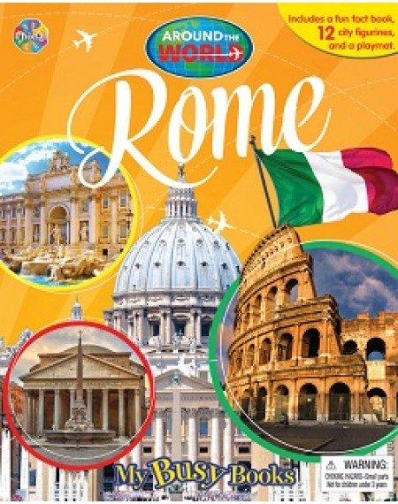 My Busy Book : Around The World Rome