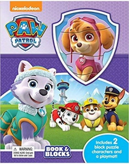 Book And Block : Nick Paw Patrol